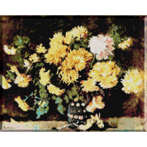 485. Luchian - Crizanteme galbene