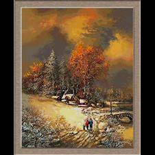 3068.зимен пейзаж