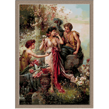 3078.Hans Zatzka.The elixir of love