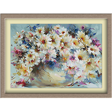 3085.Flori de camp cu margarete