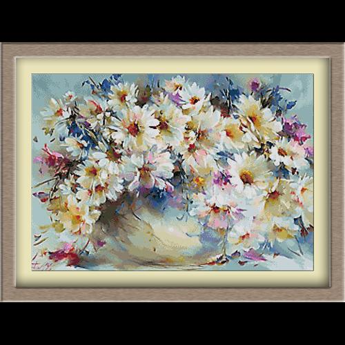 3085.Poljsko cveće sa tratinčicama