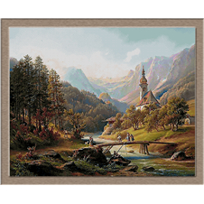 3087.Anton Schiffer.A Ramsaui templom