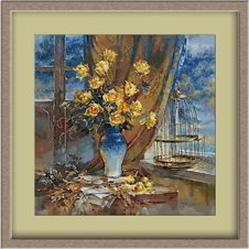 3089.Yellow roses