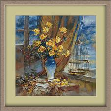3089.Жълти рози