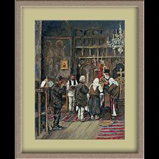 3096.Ludovic Basarab.u crkvi