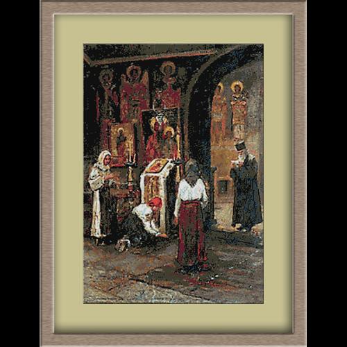 3093.Ludovic Basarab. Nedelja u crkvi