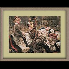 3099.James Tissot.в парка
