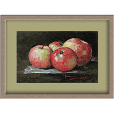 3114.N.Grigorescu.ябълки