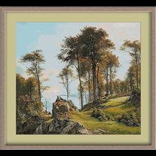 3132.Carl Frederic Aagaard.két pásztor