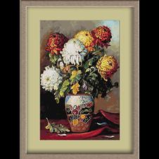 3133.Elena Muller-Stancescu.Crizanteme