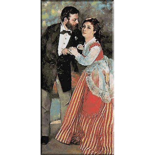 514.Renoir - Alfred si Marie Sisley