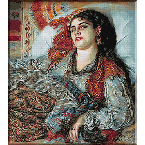 518.Renoir - Odalisca