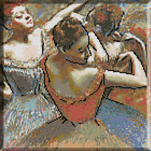 538.Degas - Dansatoare pe scena