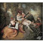 196.Watteau- Partitura iubirii