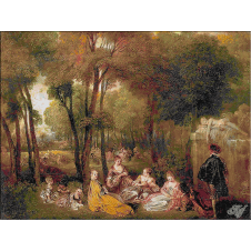 199.Watteau- Champs-Elysees
