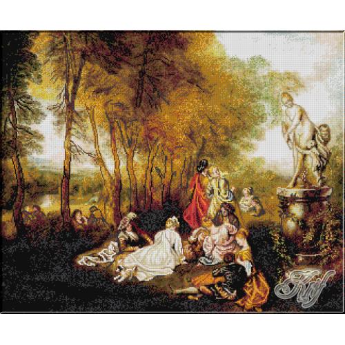 201. Watteau. Placerile dragostei