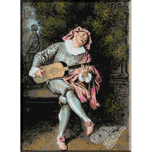 203. Watteau. Menestrelul
