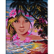 008.Alegorie cu palmieri