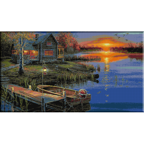 1718. Toamna pe lac