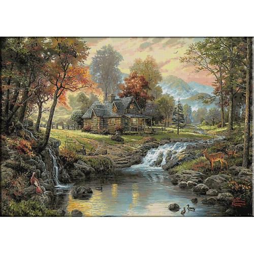 1777.Retras in munti