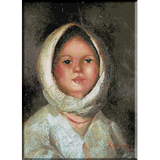 1782.N.Grigorescu - Portret de tarancuta