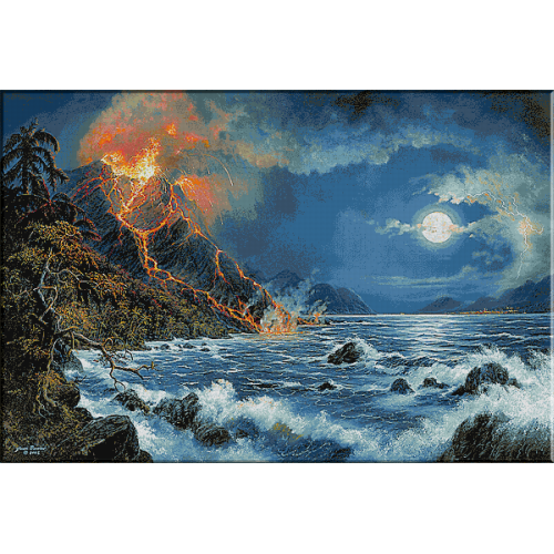 1805.Eruptie vulcanica