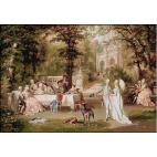 1816.Carl Schweninger jr. - Serbari galante